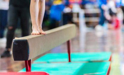 Artistic gymnastics 2   exercise on the beam
